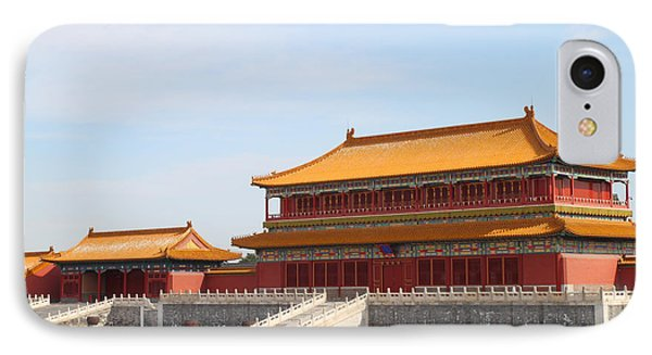 Palace Forbidden City In Beijing Phone Case by Thanapol Kuptanisakorn