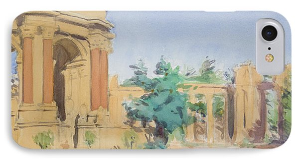 Palace Of Fine Arts Phone Case by Walter Lynn Mosley