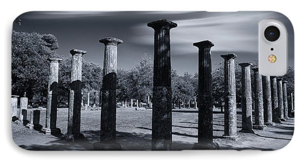 IPhone Case featuring the photograph Palaestra At Olympia by Micah Goff