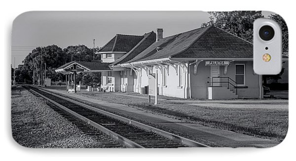 Palatka Train Station IPhone Case by Lynn Palmer