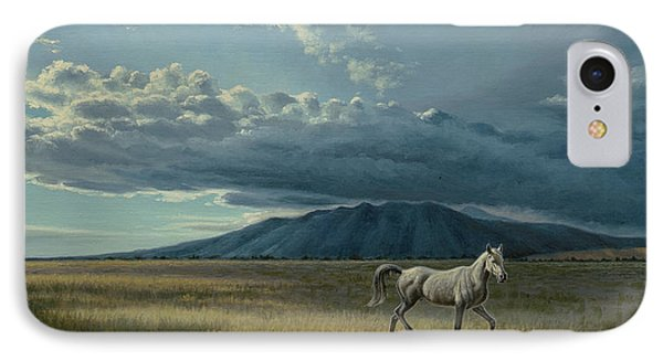 Pale Horse IPhone Case by Paul Krapf