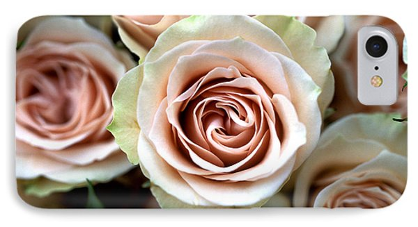 Pale Pink Roses Phone Case by Kathy Yates