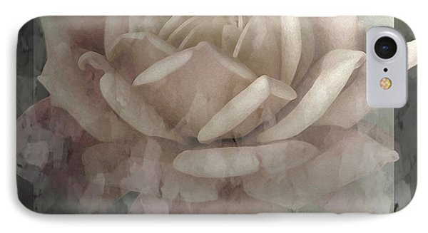 Pale Rose Photoart Phone Case by Debbie Portwood