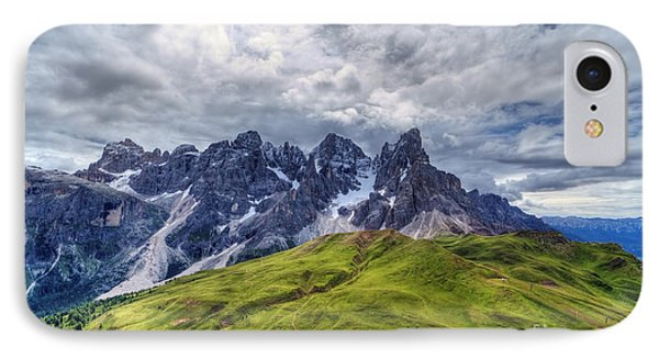 IPhone Case featuring the photograph Pale San Martino - Hdr by Antonio Scarpi