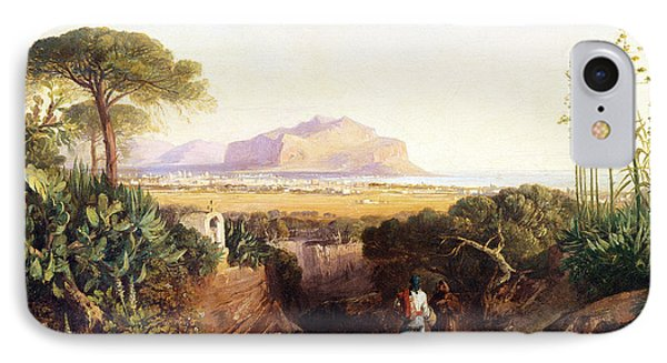 Palermo Sicily IPhone Case by Edward Lear