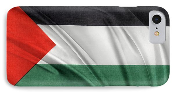 Palestine Flag IPhone Case by Les Cunliffe