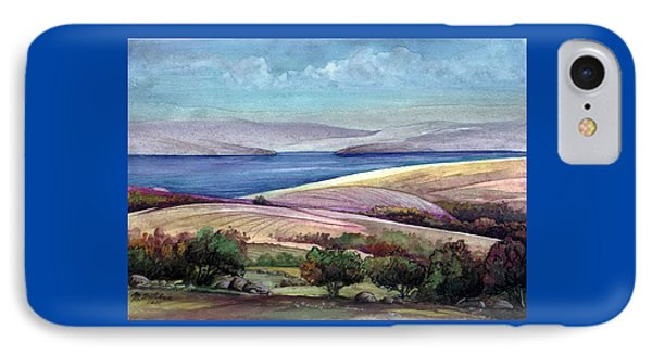 IPhone Case featuring the painting Palestine View by Mikhail Savchenko
