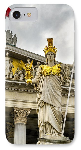 Pallas Athene Brunnen IPhone Case by Pablo Lopez