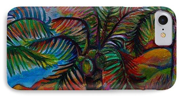 Palm Canopy Phone Case by Rufus Norman