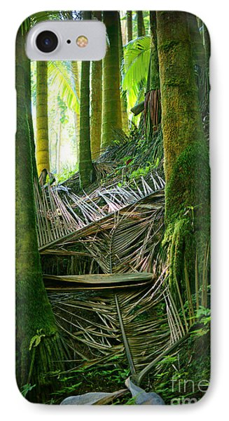 IPhone Case featuring the photograph Palm Forest by Ellen Cotton