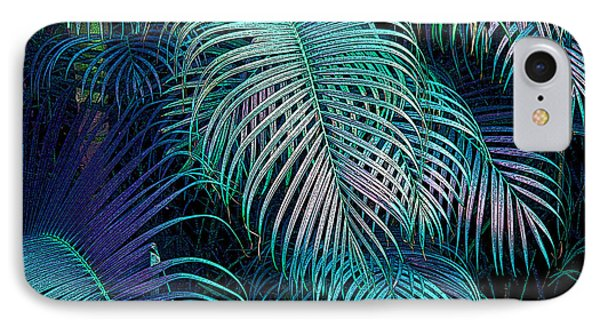 Palm Fronds IPhone Case by Mariarosa Rockefeller
