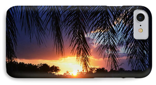 Palm Horizon IPhone Case
