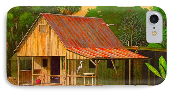 Palm Island Crab House  Phone Case by Buzz Coe