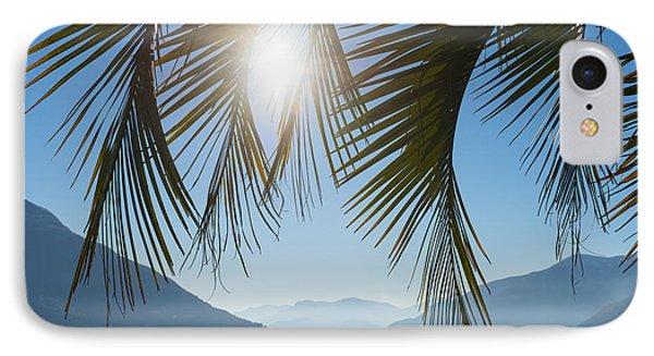 Palm Leaf Phone Case by Mats Silvan