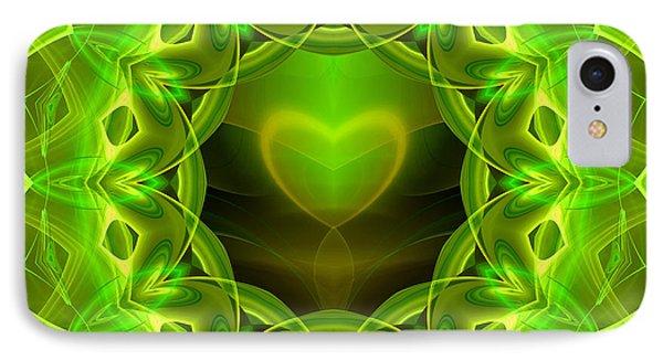 Palm Love Gift Phone Case by Hanza Turgul