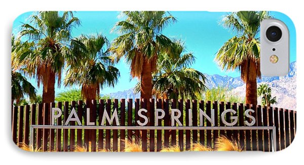 Palm Springs 1 IPhone Case