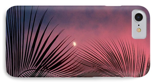 Palm Sunset IPhone Case by Megan Dirsa-DuBois