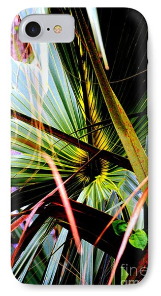 Palm Through The Fronds IPhone Case