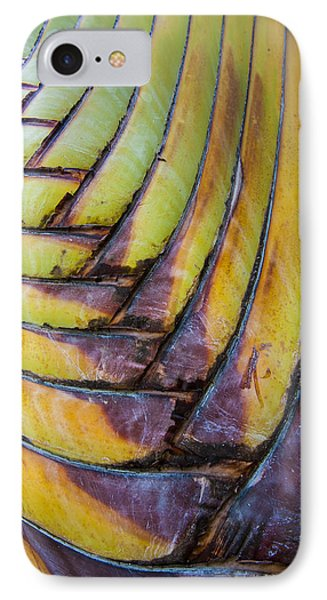 Palm Tree Abstract IPhone Case by Sebastian Musial