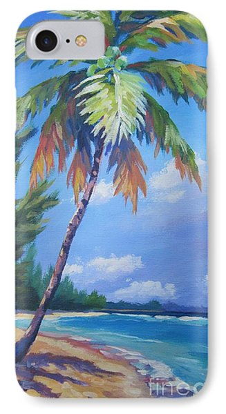 Palm Tree And View East    IPhone Case