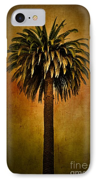 Palm Tree IPhone Case by Elena Nosyreva