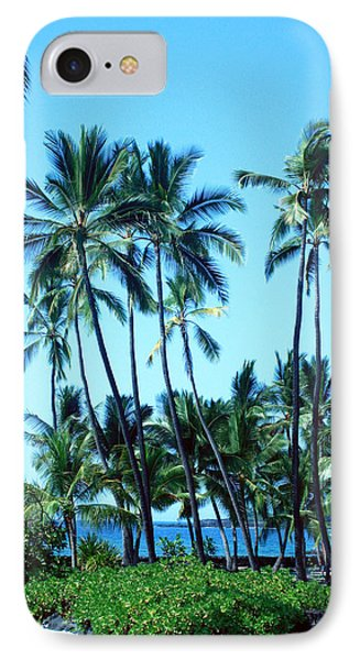 Palm Tree Gathering IPhone Case by Karen Nicholson