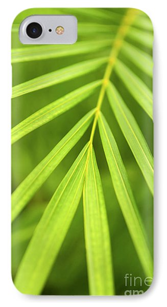 Palm Tree Leaf Phone Case by Elena Elisseeva