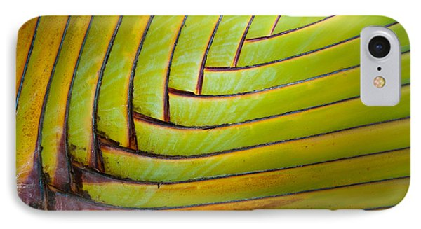 Palm Tree Leafs IPhone 7 Case by Sebastian Musial