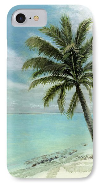 Palm Tree Study Phone Case by Cecilia Brendel