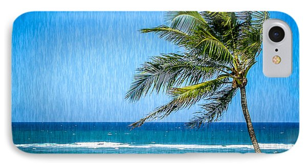 Palm Tree Swaying IPhone Case