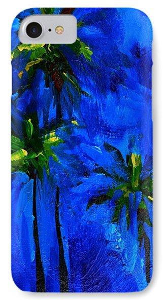 Palm Trees Abstract Phone Case by Patricia Awapara