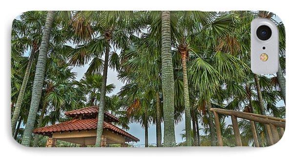 Palm Trees Phone Case by Mario Legaspi