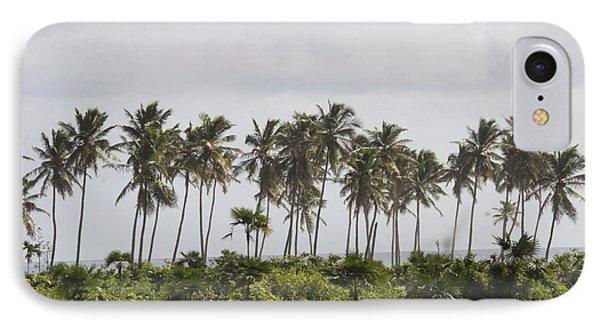 Palm Trees IPhone Case by Mustafa Abdullah