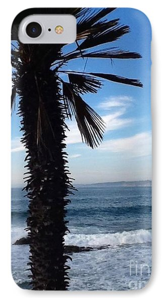 IPhone Case featuring the photograph Palm Waves by Susan Garren