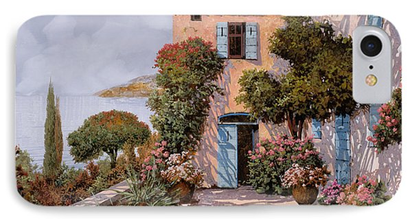 Palmette Viola Phone Case by Guido Borelli