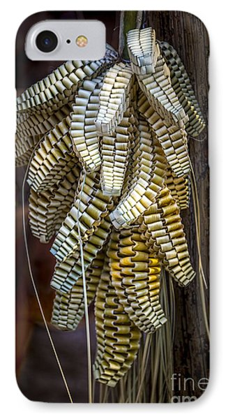 Palmetto Weave IPhone Case by Marvin Spates
