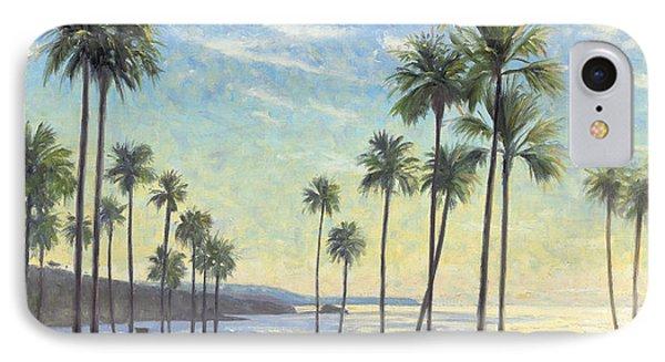 Palms Bursting In Air IPhone Case by Steve Simon