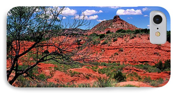 Palo Duro Canyon State Park IPhone Case by Thomas R Fletcher