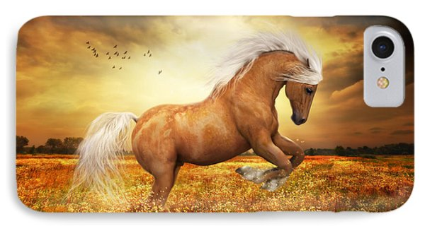 Palomino Horse Sundance  IPhone Case