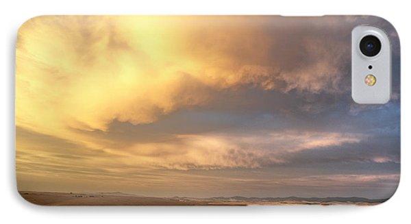 Palouse August Sunset IPhone Case