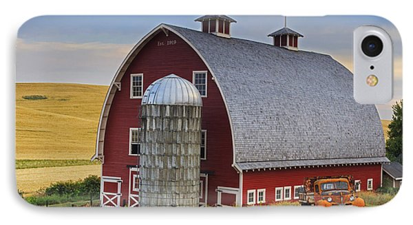 Palouse Barn - Est. 1919 IPhone Case by Mark Kiver