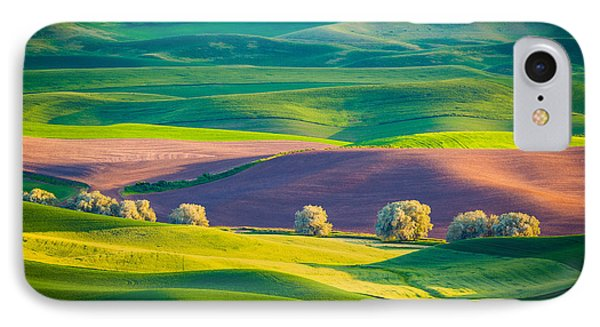 Palouse Field 3 IPhone Case by Inge Johnsson