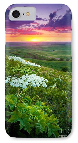 Palouse Flowers IPhone Case