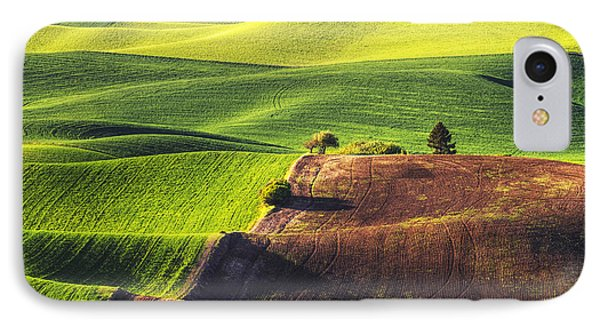 Palouse In Contrast IPhone Case by Mark Kiver