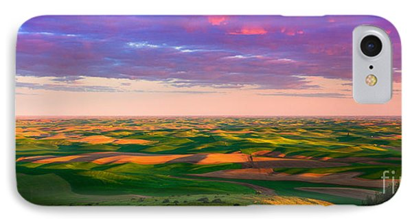 Palouse Land And Sky Phone Case by Inge Johnsson