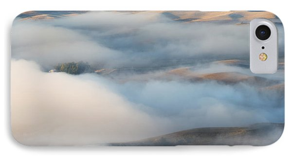 Palouse Morning Mist IPhone Case by Mike  Dawson