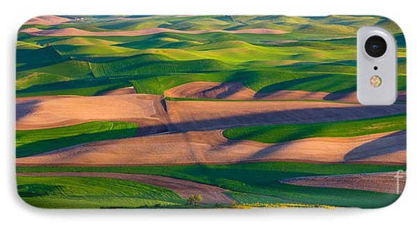 Palouse Ocean Of Wheat IPhone Case by Inge Johnsson
