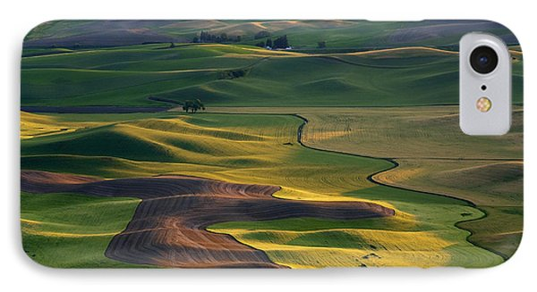 Palouse Shadows IPhone 7 Case by Mike  Dawson