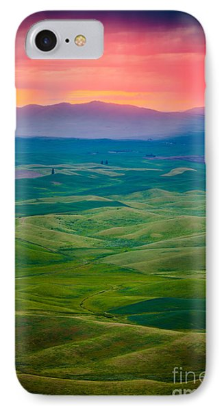 Palouse Storm At Dawn IPhone Case