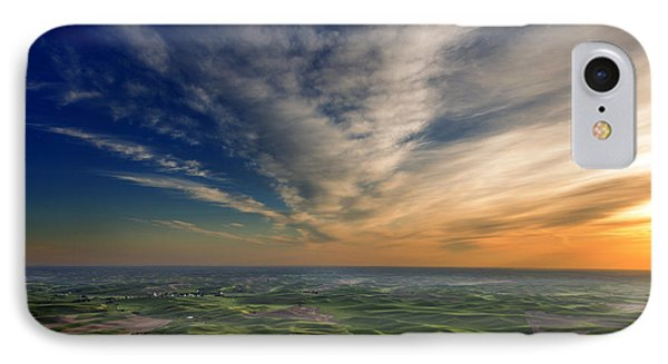 Palouse Sunset IPhone Case by Mary Jo Allen